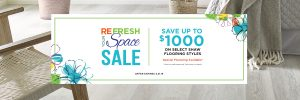 Refresh your space sale | Pilot Floor Covering