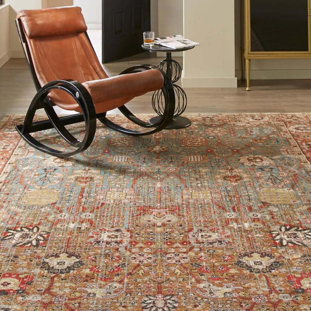 Armchair on Area Rug | Pilot Floor Covering