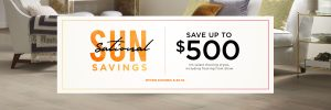 Sun sational saving sale | Pilot Floor Covering