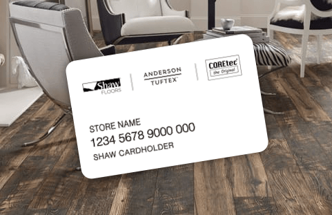 Financing Card | Pilot Floor Covering