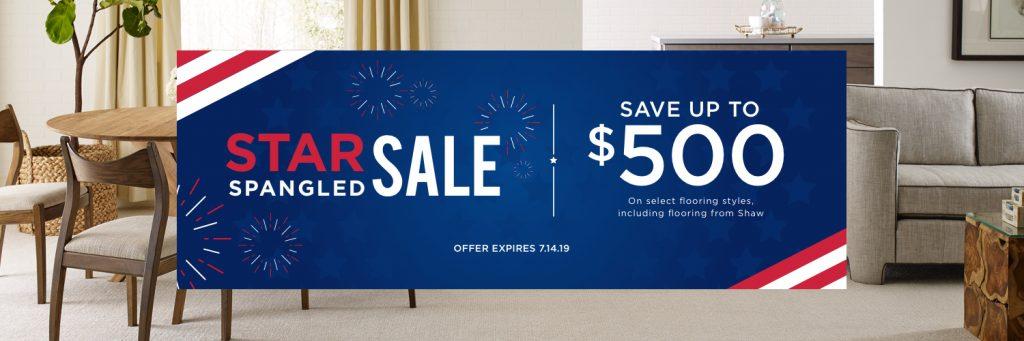 Star spangled sale banner | Pilot Floor Covering