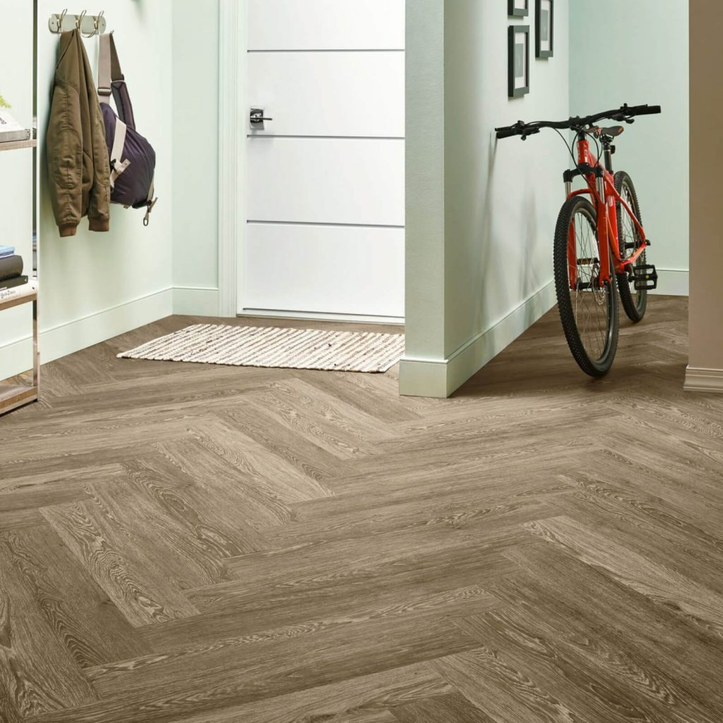 Bicycle on flooring | Pilot Floor Covering