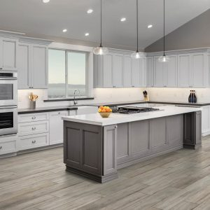 Countertops and cabinets   Pilot Floor Covering