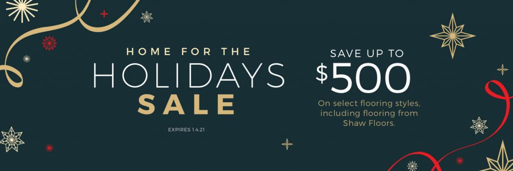 Home for the Holidays Sale