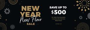New Year New Floors Sale | Pilot Floor Covering